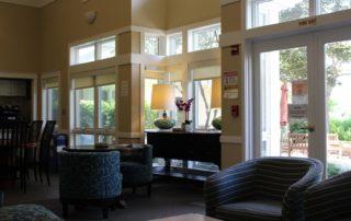 Casey House lobby