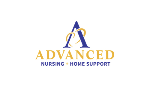advanced nursing home support logo