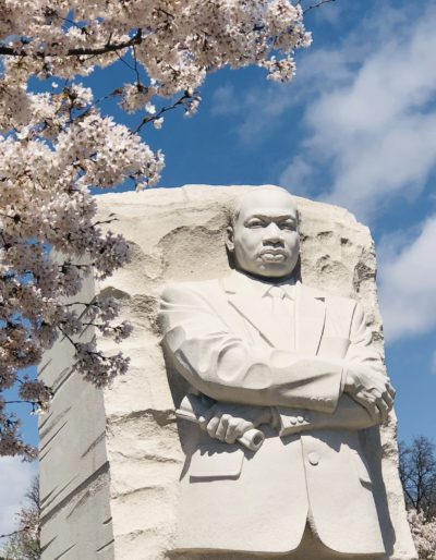 martin luther king jr statue in dc