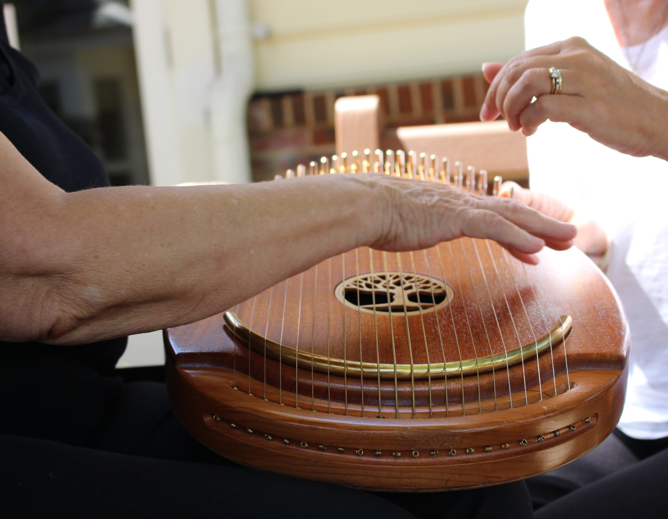music therapy harp